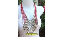 Design Necklaces String Fashion Multi Rope