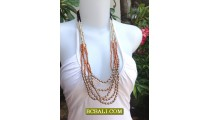 Lady Beads Strand Fashion Necklaces Handmade