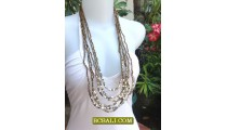 Necklaces Design Women Fashion Multi Strand