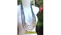 Woman Jewelry Fashion Multi Strand Necklace New 2013