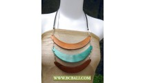 Triangle Wooden Necklace Coloring