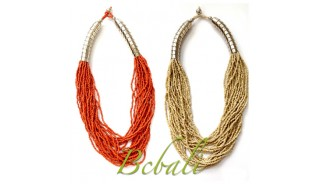Bali Seed Beads Multi Strand New Design