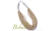 Necklaces Multi Strands Mono Color