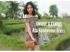Ata Rattan Grass Handbag