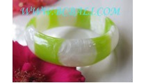 Bangle Resin Hand Work Lady