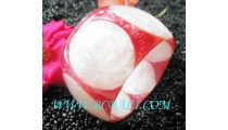 Fashion Bangle Handmade Resin