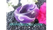 Batik Resin Fashion Bangle Ladies