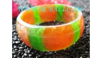 Resin Bangle Bracelets Medium