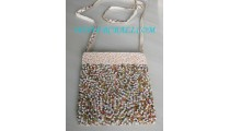 Bead Handbag Purses