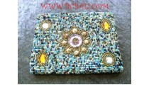 Beaded Purse Wallet Handmade