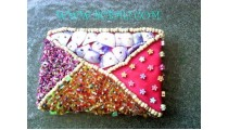 Beads And Shell Purses