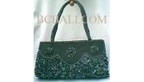 Handbags Beads Motif