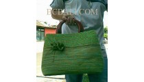 Handbags Seagrass Comb