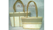 Natural Leadies Bags Purses