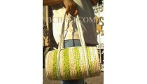 Pandanus Drum Handbags