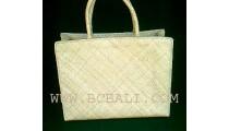 Pandanus Natural Bags