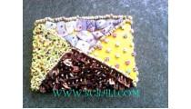 Shell Beads Purses