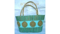Shopping Handbags Seagrass
