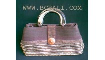 Straw Ladies Casual Handbags