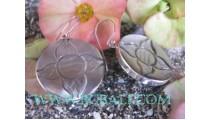 Balinese Jewelry Silver Earring Pearls