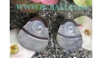 Silver Shells Earrings
