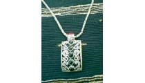 Silver Necklace Motif