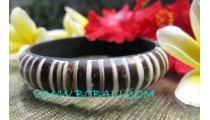 Coco Wood Resin Bangle