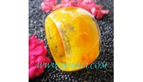 Indonesia Resin Bangle Design