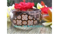 Fashion Bracelets Batik Resin