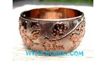 Gold Color Resin Bangle