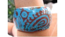 Ink Resin Bangle