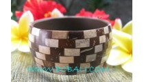 Large Coconut Resin Bangles