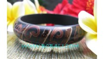 Wooden Resin Bangles Sinamon