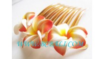 Hair Accessory Flower Comb