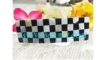 Hair Accessories Chess Motif