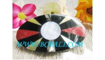 Hair Clips Resin Shell