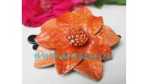 Leather Hair Clips For Fashion