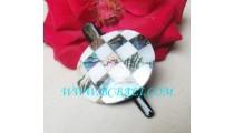 Seashell Hairpin