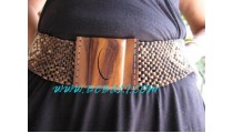 Coco Natural Buckles Belts