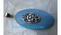 Fashion Turquoise Pendant Silver