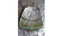 Hand Made Carving Shell Pendant