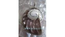 Natural Nautilus Shell Pendants
