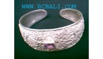 925 Amethyst Silver Bracelets