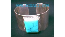 Turquoise Silver Bracelet 925