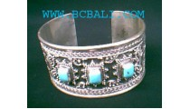 Turquoise Silver Bracelets 925