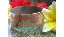 Bangles Resin Shells Natural