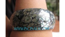 Bangles Resin With Sea Shells
