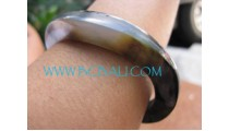 Black Mother Pearls Bangle