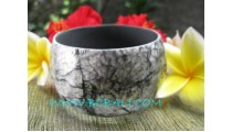 Black Shells Bangle Fashion