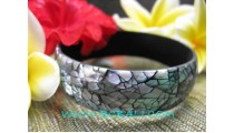 Break Shells Bangles Resin